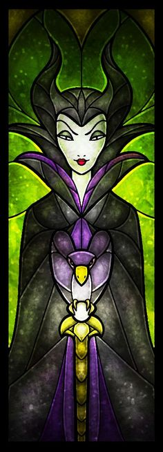 Maleficent - The Evil Fairy Art Print by Mandie Manzano World Disney, Art Disney, Disney Kunst, Disney Love, Disney Magic, Disney Maleficent, Disney Villains, Disney And Dreamworks, Disney Pixar
