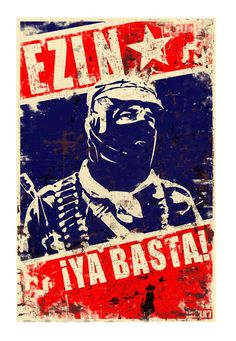 Zapatista Army of National Liberation (EZLN), Mexican rebel movement. Collage Illustration, Stencil Art, Sketch Book, Propaganda Posters, Protest Posters, Poster Stickers, Art, Art Reference, Street Art