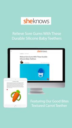 Help out your teething baby with these durable silicone teethers. Featuring our Good Bites Textured Teether! Baby Teethers, Teething, Parenting, Childcare, Natural Parenting