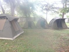 This is a camping site for camping safaris, Tanzania