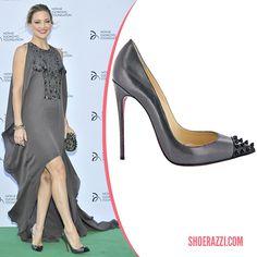 Kate Hudson in Christian Louboutin Geo Pumps - ShoeRazzi