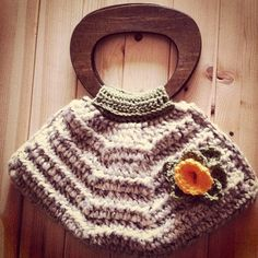Crocheted Handbag by LooplaCrochet on Etsy