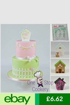 FMM Decorations & Cake Toppers Home, Furniture & DIY #ebay Cake Toppers, Cake Decorating, Decorative Boxes, Shed, Decorations, Diy, Furniture, Girls Girls Girls, Cake