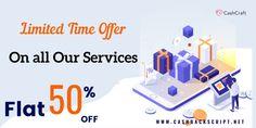Flash Sales | CashCraft | Premium cashback Solutions Script, 50th, Coupon, Script Typeface, Coupons