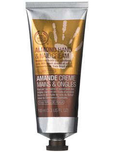 hand beauty care for women | The Body Shop Almond Hand & Nail Cream: Skin Care: allure.com
