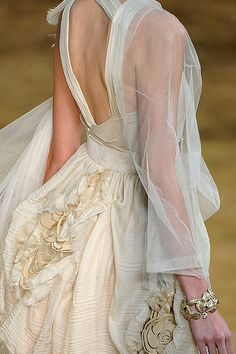 ...lovely Chanel wedding gown