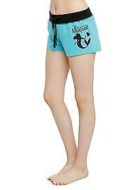 HOTTOPIC.COM - Disney The Little Mermaid Ariel Lounge Shorts