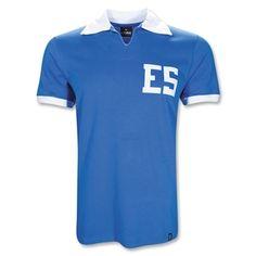 1982 El Salvador Soccer Jersey.