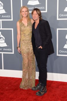 Nicole Kidman con su marido, Keith Urban.