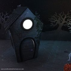 Stampin' Up! Halloween Szene mit Ein Haus für alle Fälle und Halloween Szenerie