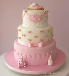 pasteles de bautizo para ninas | lunes, 11 de febrero de 2013