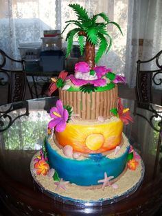 Luau Baby Shower By Millie1957 On CakeCentral.com