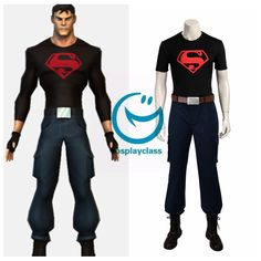 DC Comics Young Justice Superboy Cosplay Costume #DCcomics #cosplay #costume #youngjustice #superboy