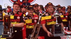 Top 40 Daytona 500 performers of all time: Davey Allison: The son of Bobby and nephew of Donnie Allison, Davey Allison was a tremendous restrictor‐plate racer, winning the 1992 Daytona 500 and finishing second to his father in 1988. Davey surely would have posted bigger numbers, but he made just seven Daytona 500 starts before perishing in a helicopter crash at Talladega in 1993.