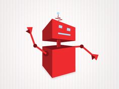 Another red robot