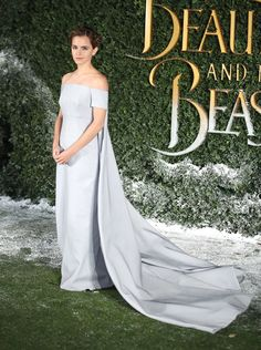 Forget Belle, Emma Watson Is Channeling Cinderella at the 'Beauty and the Beast' Premiere