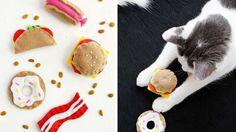 junk food jouets chat diy