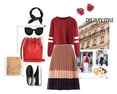 A fashion look from November 2016 featuring red shirt, colorblock skirts and flats sneakers. Browse and shop related looks. Red Shirt, Off Duty, Miss Selfridge, Color Blocking, Boohoo, Fashion Looks, Skirts, Polyvore, Shopping