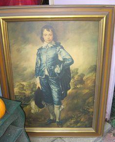 Vintage Thomas Gainsborough Blue Boy on by VintageWoodsWitch