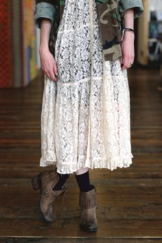 Summer Fashion Inspiration | White Lace