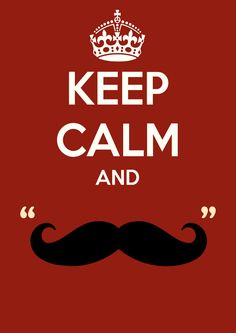 Keep Calm and :)
