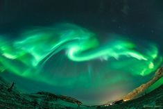 Dragon Aurora over Norway  #NASA #APOD #Astronomy Picture Of the Day