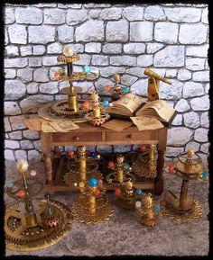 1:12 ORRERY dollhouse miniature by Soraya Merino. $24.99, via Etsy.