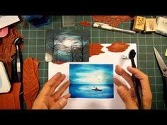 Stampscapes 101: Video 136.  Spooky Sky Set