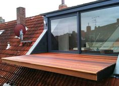 3 Awake Simple Ideas: Roofing House Ideas wooden roofing section.Shed Roofing Interior. Roof Terrace Design, Roof Design, Exterior Design, Interior And Exterior, Exterior Colors, Attic Renovation, Attic Remodel, Roof Styles, House Styles