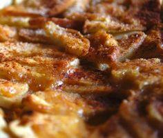 tarta de manzana microondas