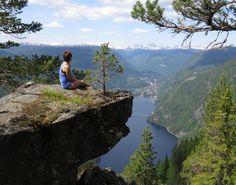 Thumbnail for Lårdalstigen Norway, Mountains, Nature, Travel, Viajes, Traveling, Nature Illustration, Off Grid, Trips