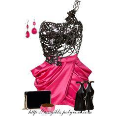 Balmain Skirt, created by mssgibbs on Polyvore