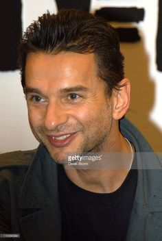 Dave Gahan of Depeche Mode during Depeche Mode Launch Their Album 'Playing the…