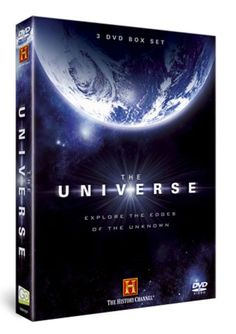 On the TV: The Universe DVDs