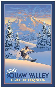 Ski Squaw Valley California