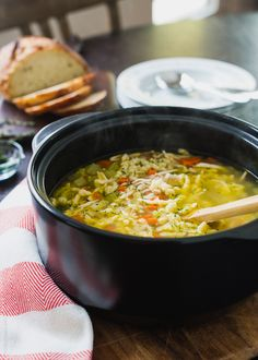 Chicken and Herb Spaetzle Soup   www.kitchenconfidante.com   There's nothing comforting than chicken soup with homemade dumplings.