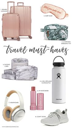 travel hacks airplane travel hacks for kids Travel Must Haves for Flights Airplane Essentials, Travel Bag Essentials, Road Trip Essentials, Road Trip Hacks, Travel Necessities, Packing List For Travel, Travelling Tips, Travel Bags, Packing Tips