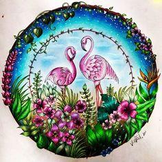 #johannabasford #magicaljungle #art #coloring #coloringbookforadults #adultcoloringbook #adultcoloring #coloringbook #coloringmasterpiece #coloringbooks #fabercastell