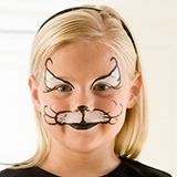 Cat Face Painting Step 3