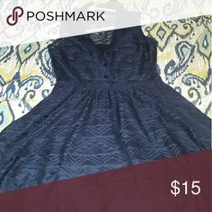 Skater dress Blue skater dress Dresses Mini