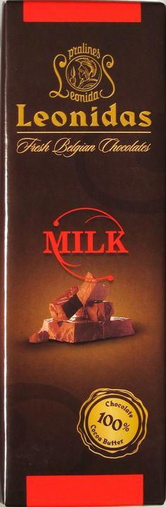 Leonidas Milk Chocolate (plain)