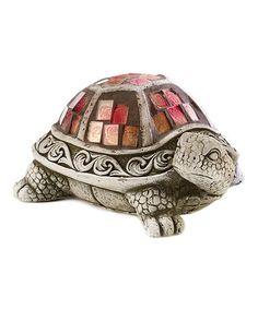 Another great find on #zulily! Mosaic Turtle Figurine #zulilyfinds