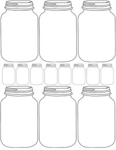 Free Jar Label Template New 17 Best Images About Free Mason Jar Printables On Mason Jars, Mason Jar Gifts, Canning Jars, Pots Mason, Printable Labels, Printables, Mason Jar Invitations, Jar Labels, Ball Jars