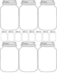 rustic love: DIY Printable Mason Jar Gift Tags