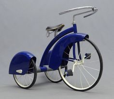 "ein-bleistift-und-radiergummi: "" 1930′s Art Deco Tricycle Made by the Murray Company. (Source: globaltoynews.com) """