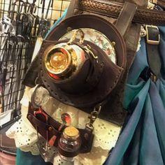 Teacup Holster with Extension - Preorder · Milton's Emporium · Online Store Powered by Storenvy Viktorianischer Steampunk, Steampunk Costume, Steampunk Clothing, Steampunk Fashion, Steampunk Coffee, Victorian Costume, Larp, Steampunk Accessories, Punk Outfits