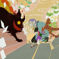 Pixiv Id 3988657 Image - Zerochan Anime Image Board Anime Chibi, Manga Anime, Mononoke Anime, Samurai Champloo, Anime Art Fantasy, Vocaloid, Scary Monsters, Ghibli Movies, Neon Genesis Evangelion