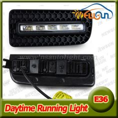 99.00$  Watch here - http://aliibs.worldwells.pw/go.php?t=32293311287 - 10W High Power LED Daytime Running Lights For BMW E36 M3 91-98 3 SERIES 2D/4D Bumper DRL Fog Light Xenon white daylight