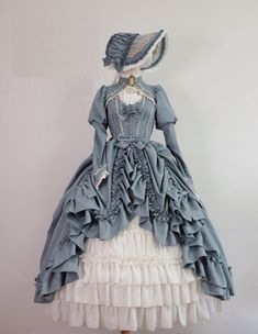Old Fashion Dresses, Old Dresses, Pretty Dresses, Beautiful Dresses, Vintage Dresses, Vintage Outfits, Victorian Dresses, Dress For You, The Dress