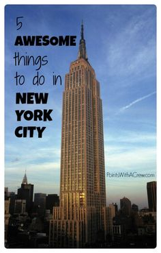 One of my kids shares her top New York City things to do. Find free NYC bucket list attractions in spring, summer, fall or winter